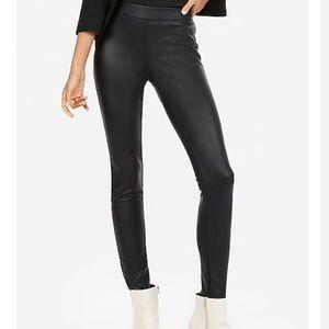 Express Faux Leather Legging - Black